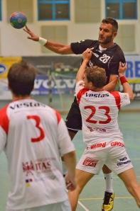 Silva Paulo (Pressano) contro Dean Turkovic (Loacker)