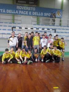 Giovanili vincono Rovereto Torneo della Pace