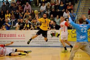 Walter Chistè tiro vs Bolzano