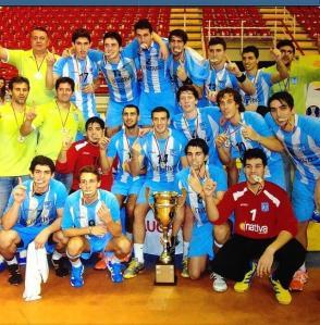 Bertolez con Argentina Campioni Panamericani 2013