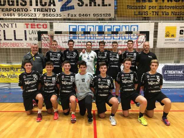 Pallamano Pressano Under 17 squadra 20172018