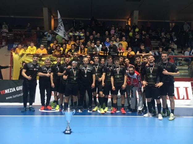 Pressano secondo posto Coppa Italia 2019 premiazione